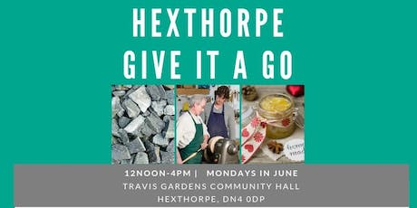 Hexthorpe Give It A Go tickets