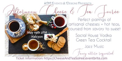 Afternoon Cheese and Tea Soiree Fundraiser