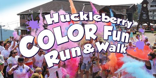 2019 Huckleberry Color Fun Run