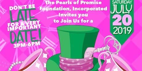 Pearls of Promise Foundation, Inc. Mad Hatter Tea tickets