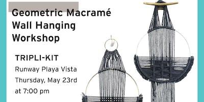 Geometric Macrame Wall Hanging Workshop
