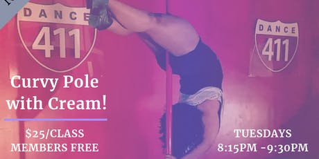 Dance 411: Adult Curvy Pole Dance (All levels) tickets