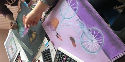 Summer Art&craft camp for children.