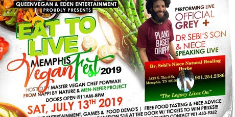 Eat To Live Vegan Festival  tickets