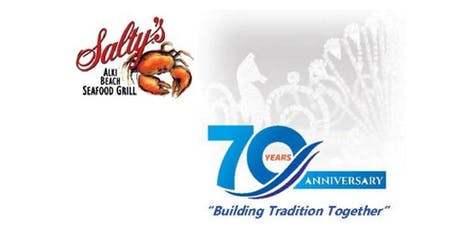 Seafair 70th Anniversary Dinner and Silent Auction at Salty's on Alki tickets
