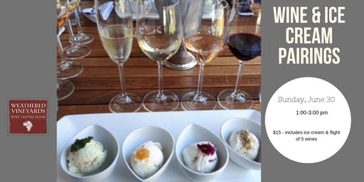 Wine & Ice Cream Pairings