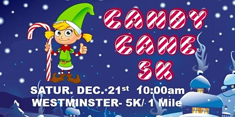 Candy Cane Chase 5k & Kids Race tickets