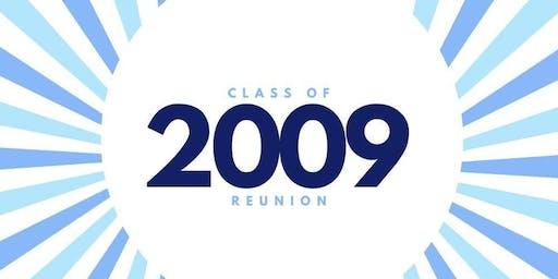 SFHS Class of 2009 Reunion $30 Tickets