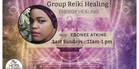 Group Reiki Healing tickets