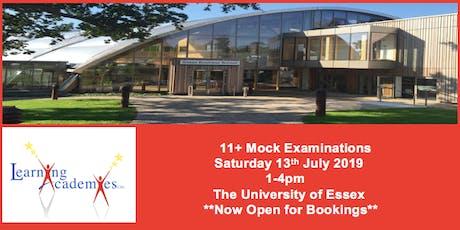 11+ Mock Examination, Essex. 11 Plus tickets