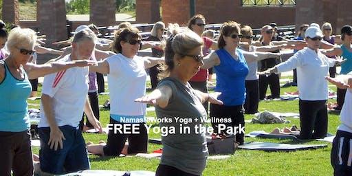 FREE Yoga in the Park – Highlands Ranch, Colorado