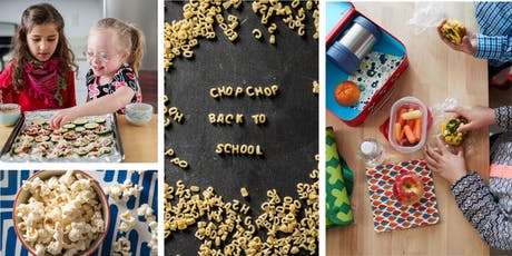 Back-to-School Snacks Cooking Class (Grades 1-5) tickets