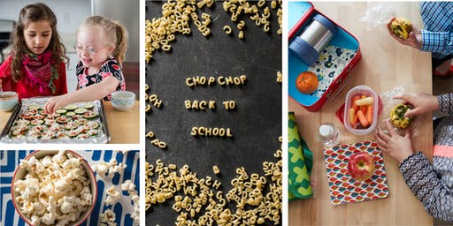 Back-to-School Snacks Cooking Class (Grades 1-5)