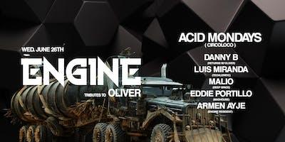 Engine: Tributes to Oliver w/ Acid Mondays