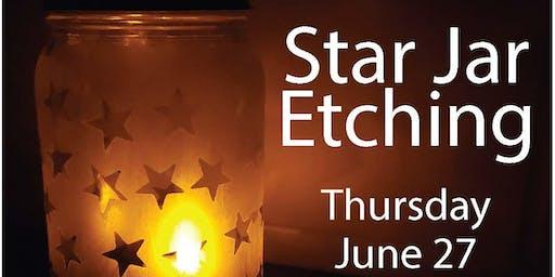 Star Jar Etching (13-17Y)