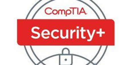 October 7 - 11: CompTIA Security+ Boot Camp tickets