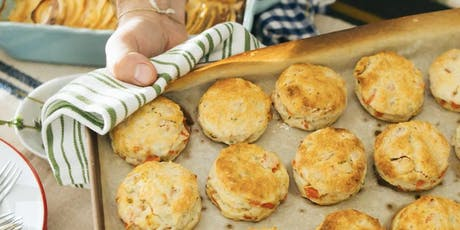 Biscuit Time with Chef Carla Hall and Reel Food's Chadwick Boyd at Williams Sonoma Charleston tickets