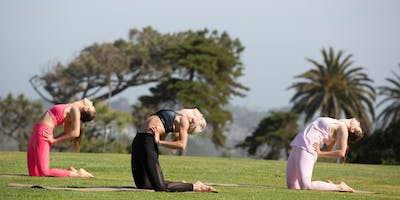 Body Stretch Open Air Class - Carlsbad - May 4