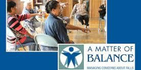 A Matter of Balance: Managing Concerns About Falls.  tickets