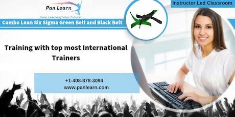 Combo Six Sigma Green Belt (LSSGB) and Black Belt (LSSBB) Classroom Training In Helena, MT tickets