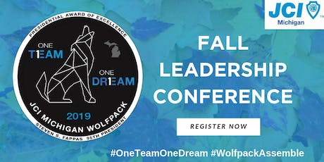 JCI Michigan Fall 2019 Leadership Conference and Elections tickets