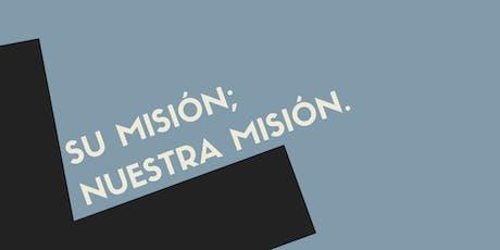 Su misión; Nuestra misión. entradas