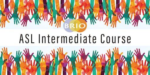 Brio's Intermediate ASL Course