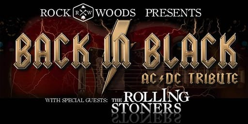 Rockwoods Presents: Back in Black with The Rolling Stoners