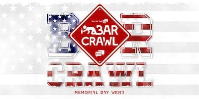 CRAWL RALEIGH MEMORIAL DAY WEEKEND BAR CRAWL