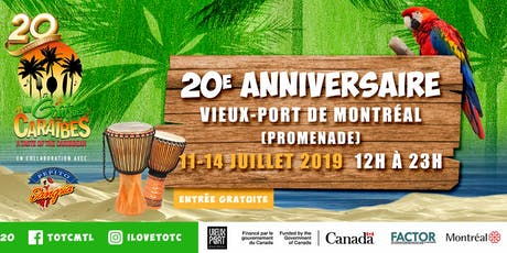 Taste of the Caribbean - 20th Anniversary  tickets