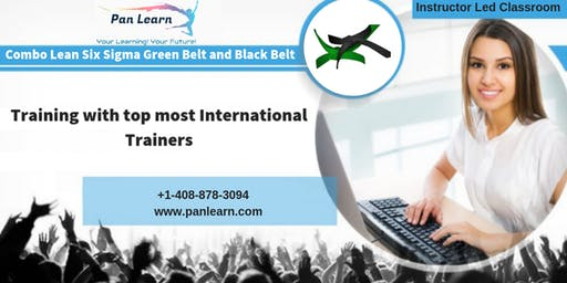 Combo Six Sigma Green Belt (LSSGB) and Black Belt (LSSBB) Classroom Training In Des Moines, IA