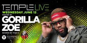 Temple Live Hosted by Gorilla Zoe