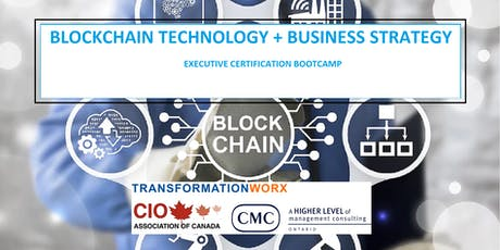 Blockchain Technology & Business Strategy Bootcamp - Become a CIO Certified Blockchain Professional billets