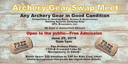Archery Gear Swap Meet