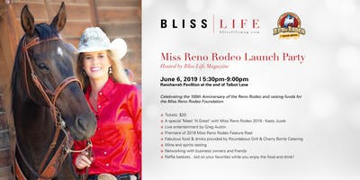 Miss Reno Rodeo Launch Party, Hosted by Bliss Life Magazine and Rancharrah