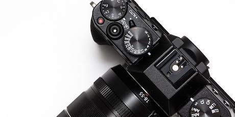 Camera Basics Workshop tickets