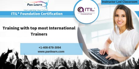 ITIL Foundation Classroom Training In Los Angeles, CA tickets