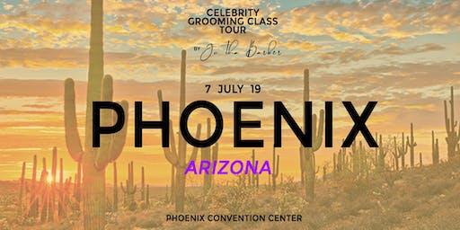 Phoenix, AZ - Celebrity Grooming Class by JC Tha Barber