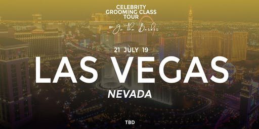 LAS VEGAS - Celebrity Grooming Class by JC Tha Barber