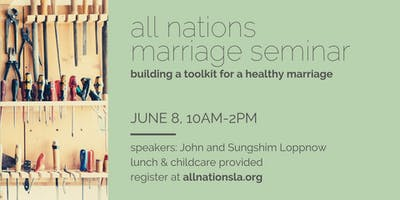 All Nations Marriage Seminar