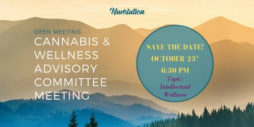 Cannabis & Wellness Advisory Committee Meeting - October