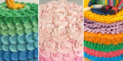 Cake Decorating: Buttercream Designs at Fran's Cake and Candy Supplies