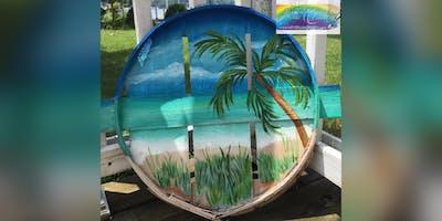 Beach on Bushel Lid: Essex, Crazy Tuna with Artist Katie Detrich!