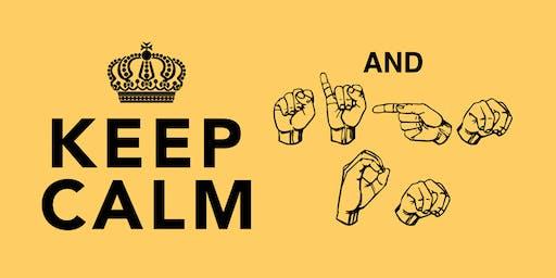 Brio's Beginner ASL 10 Week Course