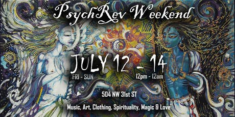 PsychRev Weekend, July 12 - 14 tickets