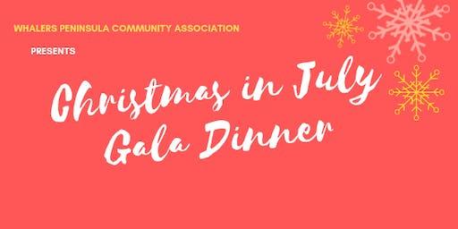 Christmas in July: Gala Dinner