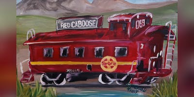 Red Caboose PAINT NIGHT