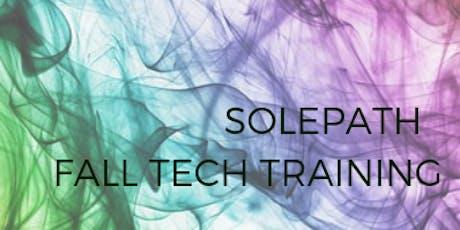 SolePath certified technician training: Fall 2019 tickets