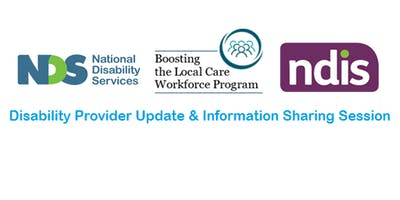 Disability Provider Update & Information Sharing Session - Ipswich