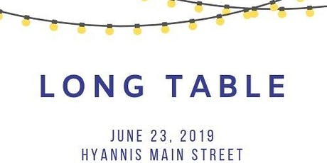 Main Street Hyannis Long Table Dinner with BBC tickets